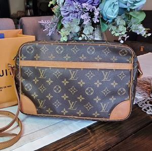 Authentic Louis Vuitton TROCADERO 30 Shoulder Bag